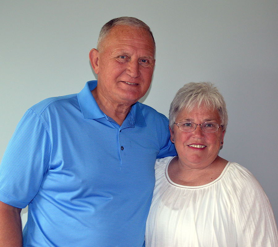 Mike Hartman and Cindy Hartman